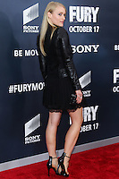 WASHINGTON, DC, USA - OCTOBER 15: Leven Rambin arrives at the Washington DC Premiere Of Sony Pictures' 'Fury' held at The Newseum on October 15, 2014 in Washington, DC, United States. (Photo by Jeffery Duran/Celebrity Monitor)