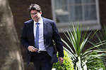 © Joel Goodman - 07973 332324 . 11/05/2015 . London , UK . Andrew Feldman, Baron Feldman of Elstree arriving at 10 Downing Street from Parliament this afternoon (11th May 2015) . Photo credit : Joel Goodman
