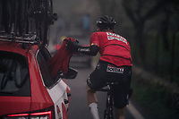 Tim Wellens (BEL/Lotto-Soudal) is most dangerous when rain is a determining factor in the race<br /> <br /> Trofeo Lloseta - Andratx: 140km<br /> 27th Challenge Ciclista Mallorca 2018