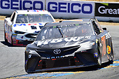 Monster Energy NASCAR Cup Series<br /> Toyota/Save Mart 350<br /> Sonoma Raceway, Sonoma, CA USA<br /> Sunday 25 June 2017<br /> Martin Truex Jr, Furniture Row Racing, Furniture Row/Denver Mattress Toyota Camry, Kevin Harvick, Stewart-Haas Racing, Mobil 1 Ford Fusion<br /> World Copyright: John K Harrelson<br /> LAT Images