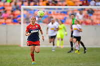 Houston, TX - Sunday Oct. 09, 2016: Whitney Church during the National Women's Soccer League (NWSL) Championship match between the Washington Spirit and the Western New York Flash at BBVA Compass Stadium.
