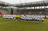 USWNT vs Germany, Friday,  April 5, 2013