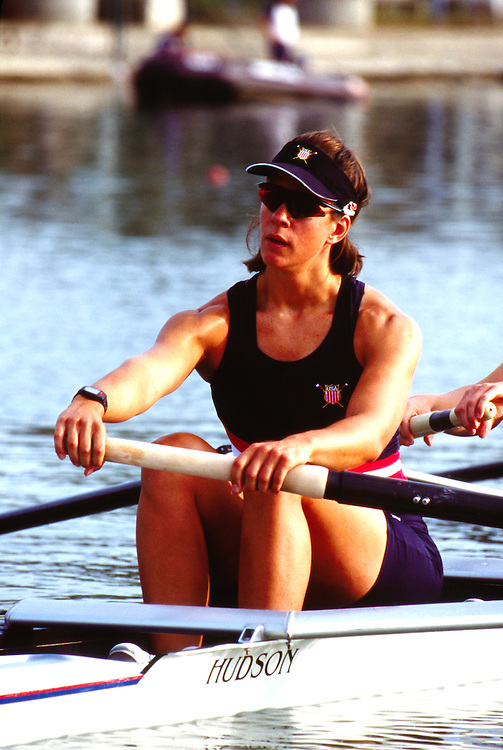 US Women's Four, W4-, FISA 2002 World Rowing Championships, Seville, Spain, Wendy Wilbur, 5th place: 6:35.29