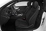 Front seat view of 2019 Mercedes Benz C-Class AMG-Line 2 Door Coupe Front Seat  car photos