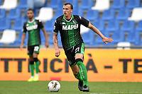 Vlad Chiriches of US Sassuolo <br /> Reggio Emilia 22/09/2019 Stadio Citta del Tricolore <br /> Football Serie A 2019/2020 <br /> US Sassuolo - SPAL <br /> Photo Andrea Staccioli / Insidefoto