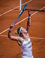 Paris, France, 27 May, 2019, Tennis, French Open, Roland Garros, Paula Parmentier (FRA)<br /> Photo: Henk Koster/tennisimages.com