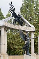 Mahnmal für die Opfer der deutschen Besatzung am Szabadság tér, Budapest, Ungarn
