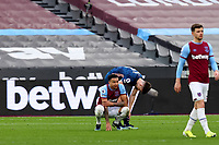 21st March 2021; London Stadium, London, England; English Premier League Football, West Ham United versus Arsenal; A dejected looking Jesse Lingard of West Ham United after the 3-3 draw