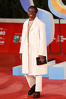 Singer David Blank poses for photographers on the red carpet of the 15th edition of Rome film Fest.<br /> Rome (Italy), October 15th 2020<br /> Photo Samantha Zucchi Insidefoto
