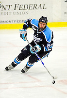 29 January 2010: University of Maine Black Bears' defenseman Josh Van Dyk, a Junior from Woodstock, Ontario, in third period action against the University of Vermont Catamounts at Gutterson Fieldhouse in Burlington, Vermont. The Black Bears defeated the Catamounts 6-3 in the first game of their America East weekend series. Mandatory Credit: Ed Wolfstein Photo