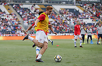 Chester, PA - Monday May 28, 2018: Josh Sargent during an international friendly match between the men's national teams of the United States (USA) and Bolivia (BOL) at Talen Energy Stadium.
