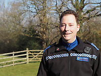 2018 10 10 PCSO Matthew Kieboom who saved a man by using a belt and a spoon, Wales, UK