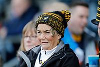 Photo: Richard Lane/Richard Lane Photography. Worcester Warriors v Wasps. Gallagher Premiership. 03/02/2019. Wasps supporter.