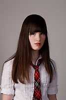 CANADA -  Feb 2010- Model Released photo of an 11 year old female student teenagerCANADA -  Feb 2010- Model Released photo of an 11 year old female student teenager