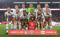 USWNT vs Chile, August 31, 2018