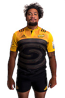 Hisa Sasagi. Hurricanes Super Rugby official headshots at Rugby League Park, Wellington, New Zealand on Wednesday, 6 January 2016. Photo: Dave Lintott / lintottphoto.co.nz