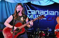Oh Susanna kicks off Canadian Music Cafe at Toronto International Film Festival. (CNW Group/Canadian Music Cafe)