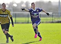RSC Anderlecht Dames : Anaelle Wiard.foto DAVID CATRY / Vrouwenteam.be
