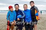 Enjoying a stroll in Banna beach on Sunday, l to r: Benjamin, Alan, Anna and Noah Teahan from Abbeydorney.