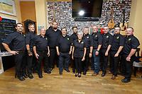 Bois y Frenni band, at Ty Tawe, Swansea, Wales, UK. Friday 27 September 2019