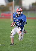 Attica Blue Devils modified football against the Elba Lancers at Attica High School on October 16, 2006 in Attica, New York.  (Copyright Mike Janes Photography)