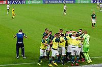 Sao Paulo (SP), 03/03/2021 - CORINTHIANS-PALMEIRAS - Gabriel Silva, do Palmeiras comemora o gol. Corinthians e Palmeiras partida valida pela 2ª rodada do Campeonato Paulista 2021, na Neo Quimica Arena, quarta-feira (03). (Foto: Maycon Soldan/Codigo 19/Codigo 19)