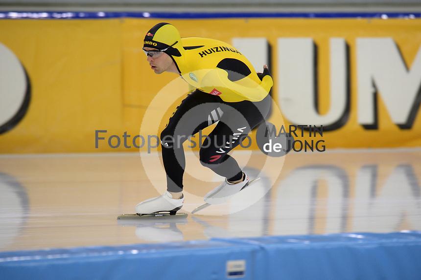 SCHAATSEN: HEERENVEEN, IJsstadion Thialf, 02-10-2020, TEAM JUMBO/VISMA, CHRIS HUIZINGA, ©foto Martin de Jong