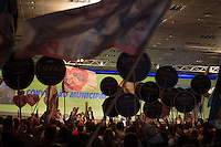 SÃO PAULO, SP, 24.07.2016 - ELEIÇÕES-SP -  convenção municipal do partido na cidade de São Paulo na Fecomercio no centro da cidade de São Paulo neste domingo, 24. A aliança partidária do PSDB para as eleições municipais em São Paulo conta com o apoio de dez partidos. PSB, PPS, PHS, PMB e DEM. (Foto: Ciça Neder/Brazil Photo Press)