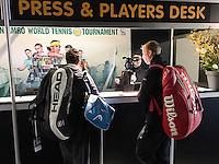 ABN AMRO World Tennis Tournament, Rotterdam, The Netherlands, 14 februari, 2017, Robin Haase (NED)<br /> Photo: Henk Koster