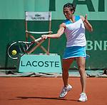 Francesca Schiavone (ITA) loses at Roland Garros in Paris, France on June 2, 2012