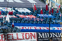 FOXBOROUGH, MA - SEPTEMBER 23: A deserted Fort during a game between Montreal Impact and New England Revolution at Gillette Stadium on September 23, 2020 in Foxborough, Massachusetts.