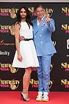 Austrian singer Conchita Wurst and presenter Boris Izaguirre (R) attend SHANGAY PRIDE and MADO Madrid Orgullo presentation and receives the Madrid Orgullo Muestra-T award in Madrid, Spain. July 03, 2013. (ALTERPHOTOS/Victor Blanco)