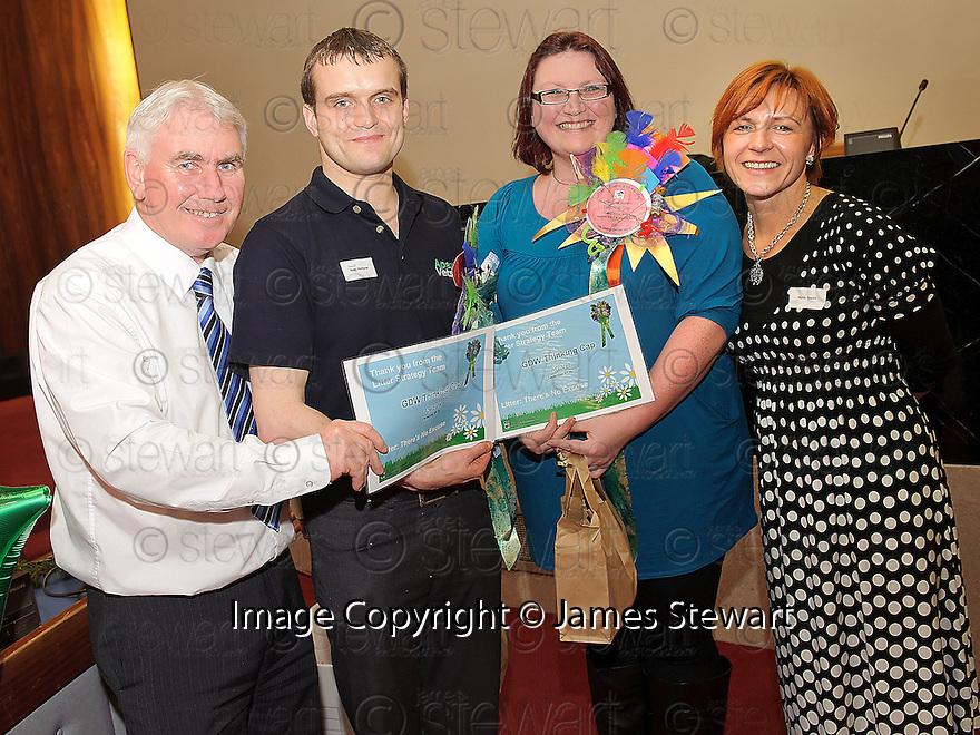 Litter Strategy Awards 2012. GDW Thinking Cap, Apex vet and AG vet.