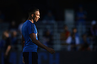 San Jose, CA - Monday July 10, 2017: Danny Hoesen prior to a U.S. Open Cup quarterfinal match between the San Jose Earthquakes and the Los Angeles Galaxy at Avaya Stadium.