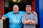 Sean Costello, Saddle Bar, Listowel pictured with his brother Brian, Killorglin & London in Listowel on Friday last.