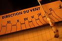 22/05/06 - AIGOUAL - LOZERE - FRANCE - Instrument meteo pour mesurer la direction du vent - Photo Jerome CHABANNE