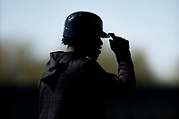 Chicago White Sox outfielder Micker Adolfo (77) during Spring Training Camp on February 25, 2018 at Camelback Ranch in Glendale, Arizona. (Zachary Lucy/Four Seam Images)