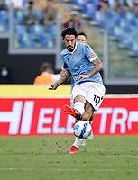 28th August 2021; Olympic Stadium, Rome, Italy; Serie A football, SS Lazio versus AC Spezia : Luis Alberto of Lazio