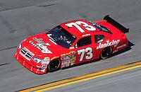 Feb 07, 2009; Daytona Beach, FL, USA; NASCAR Sprint Cup Series driver Mike Garvey during practice for the Daytona 500 at Daytona International Speedway. Mandatory Credit: Mark J. Rebilas-