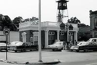 Charleston;  Charleston Gas Station.  Photo '78.