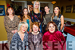 Toys Upstairs enjoying their Christmas party in the Brogue Inn on Saturday.<br /> Seated l to r: Ann O'Sullivan, Hannah O'Regan and Debbie Moriarty.<br /> Back l to r: Deirdre O'Brien, Emma Stricth, Sharon Sheehan, Karla Griffin and Stephanie Fitzell.