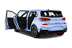 Car images close up view of a 2018 Hyundai i30 N Performance Pack Select Doors Door Hatchback doors