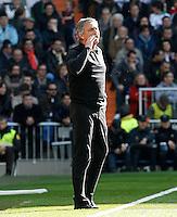 Real Madrid's coach Jose Mourinho during La Liga match.March 02,2013. (ALTERPHOTOS/Acero) /NortePhoto