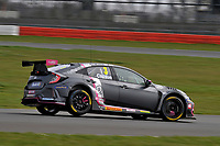2020 British Touring Car Championship Media day. #3 Tom Chilton. BTC Racing. Honda Civic Type R.