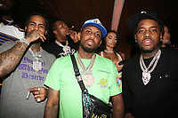 NEW YORK, NY- SEPTEMBER 12: Dave East, Fabolous and Fivio Foreign pictured at Swizz Beatz Surprise Birthday Party at Little Sister in New York City on September 12, 2021. Credit: Walik Goshorn/MediaPunch