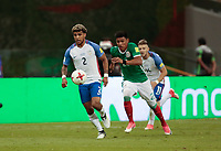 Mexico City, Mexico - Sunday June 11, 2017: DeAndre Yedlin during a 2018 FIFA World Cup Qualifying Final Round match between the men's national teams of the United States (USA) and Mexico (MEX) at Azteca Stadium.