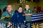 Sean Flaherty, Davy Fitzgerald and Oran Flaherty at the St Brendans hurling, Ardfert, medal presentation night in the community centre last Saturday.