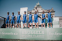 Marcel Kittel (DEU/QuickStep Floors) & team at the start<br /> <br /> 97th Brussels Cycling Classic (1.HC)<br /> 1 Day Race: Brussels > Brussels (201km)