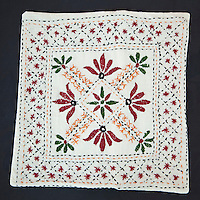 Embroidered Pillow Case, Dehradun, India.