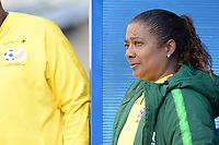 20190304 - LARNACA , CYPRUS : South African head coach Desiree Ellis pictured during a women's soccer game between Czech Republic and South Africa , on Monday 4 March 2019 at the Antonis Papadopoulos Stadium in Larnaca , Cyprus . This is the third game in group A for Both teams during the Cyprus Womens Cup 2019 , a prestigious women soccer tournament as a preparation on the Uefa Women's Euro 2021 qualification duels. PHOTO SPORTPIX.BE | STIJN AUDOOREN